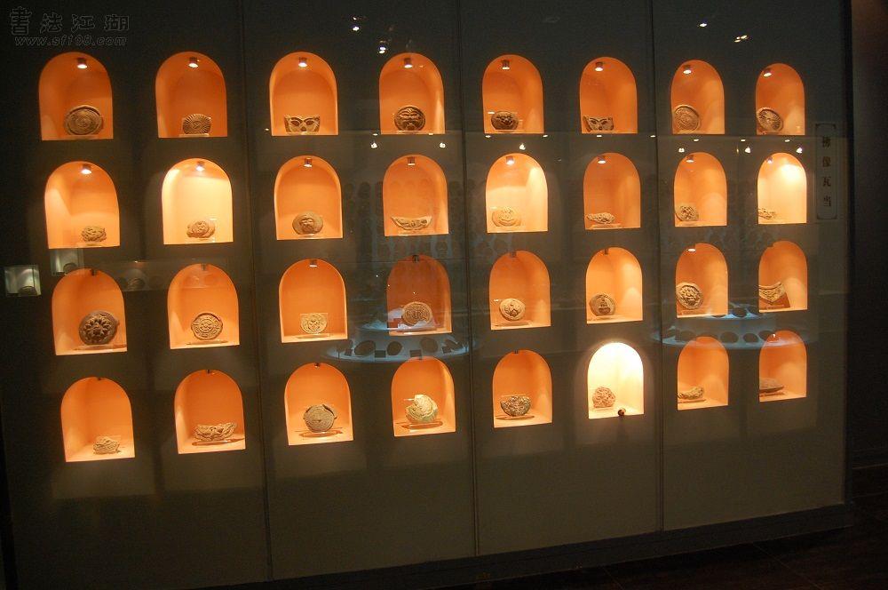 佛像瓦当展示区