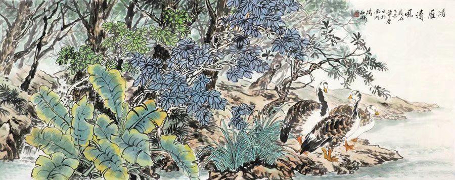 文秋林·小六尺花鸟15-84.jpg