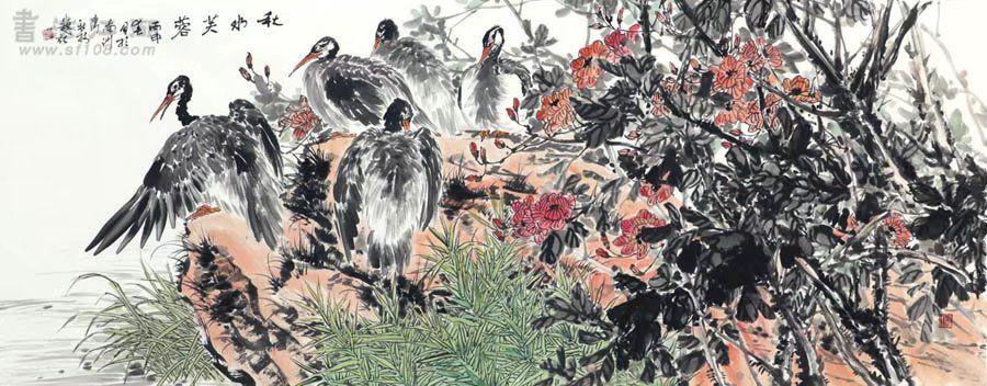 文秋林·小六尺花鸟18-68.jpg