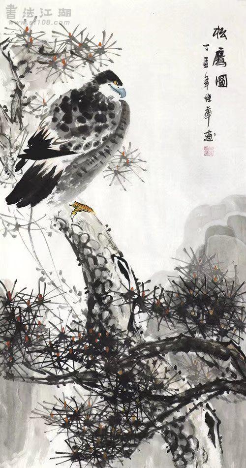 何佳华·三尺竖幅花鸟Z3-24.jpg