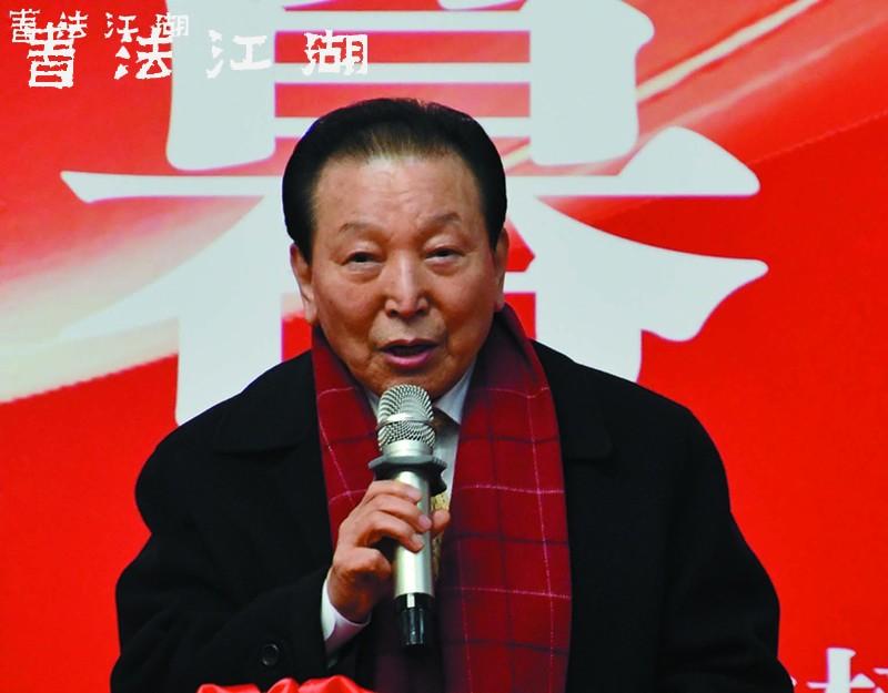 韩国文化艺术研究会会长姜信雄讲话