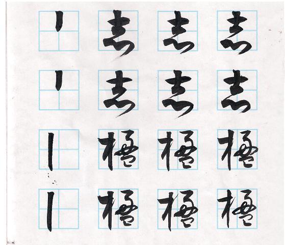 草书符号与基本笔画。粗头竖.JPG